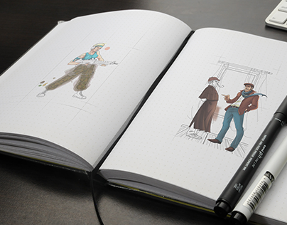 Sketches vol.2 by New Lion Studio