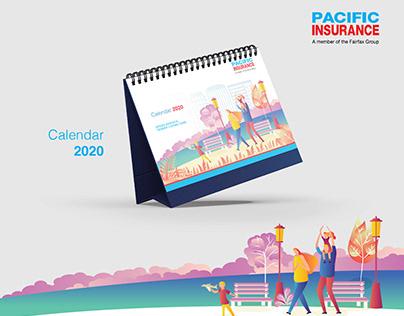 Pacific Insurance Calendar 2020