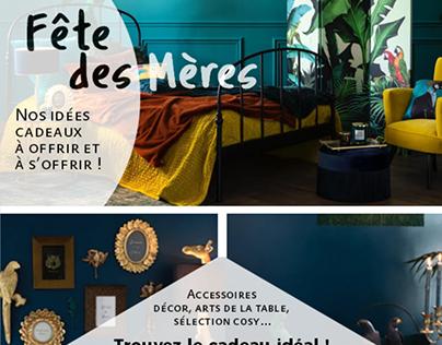 Newsletter Maison du Monde