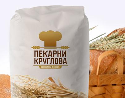 Kruglov Bakery Identity. Пекарни Круглова