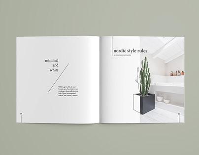 Nordic Lines - Brochure Project