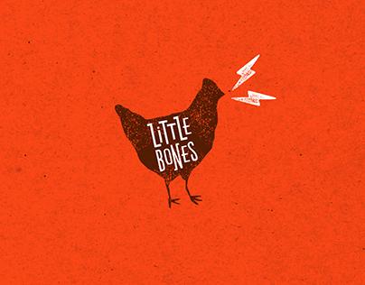Little Bones Wings Brand Identity