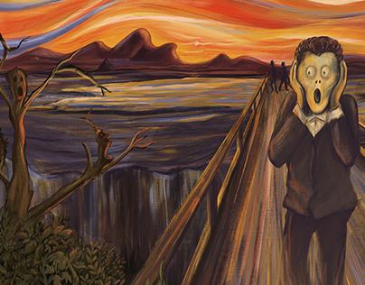 """#munchcontest """"The 5th Scream'"""