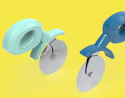 3RD YEAR PROJECT: ERGONOMIC PIZZA CUTTER