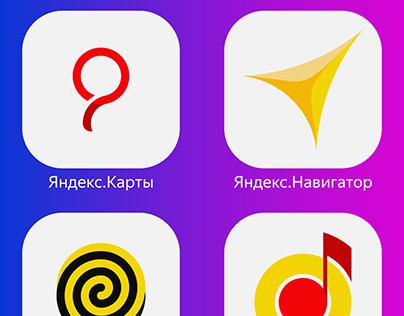 Icons of Yandex