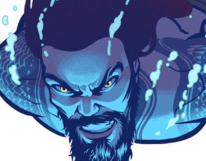 Aquaman movie animated
