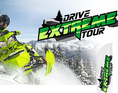 Дизайн логотипа Drive extreme tour.