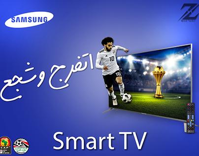 Social Media Design, Samsung TV