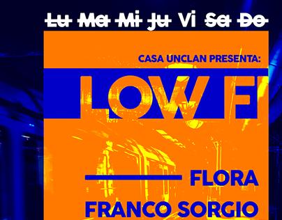 LOW FI flyer