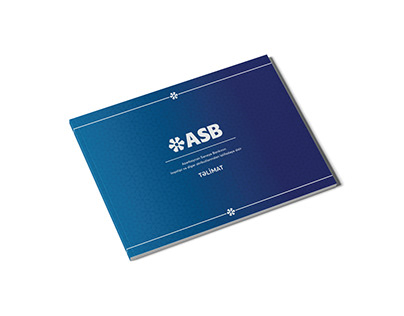 Brand book for ASB Bank
