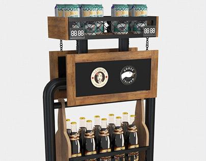 Craft display for AB InBev Efes Ukraine
