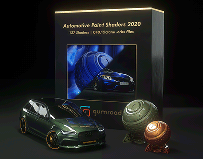 Automotive Paint Shaders 2020 | Octane CGI