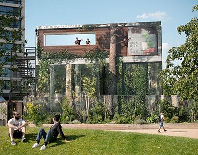 Lewis Cubitt Park - Viewing Platform