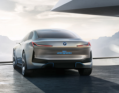 BMW i Vision Dynamics - data prep and artwork