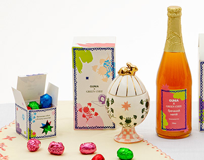 Vegan Easter Collaboration Two Brands design packaging