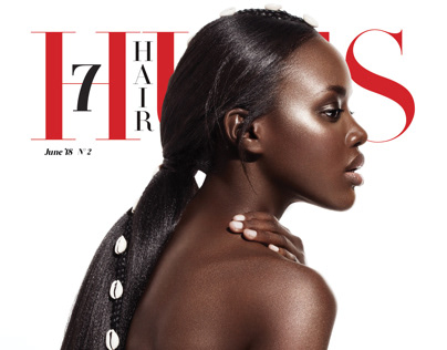 HAUTE COIFFURE  Hair cover story for 7HUES Magazine