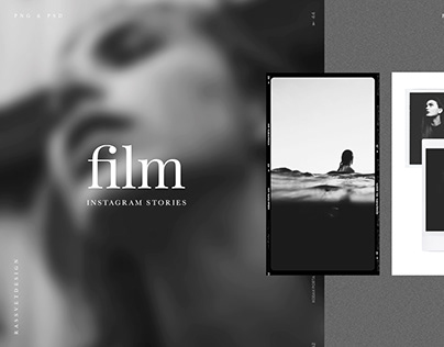 Film Frames & Polaroid Instagram Stories