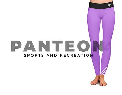PANTEON sports & recreation visual identity design