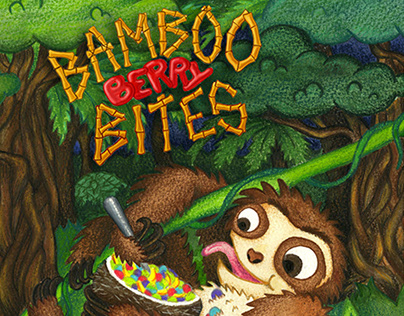 """Bamboo Berry Bites"" Cereal - Packaging Design"