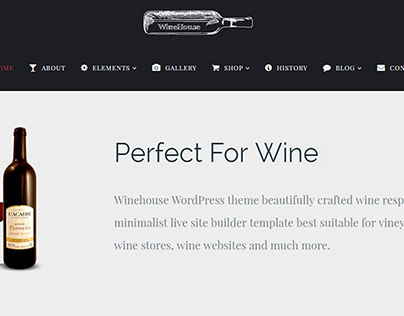 WineHouse WordPress Theme by Visualmodo