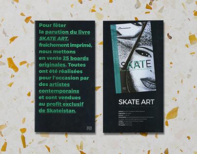 Skate Art — Release in Paris