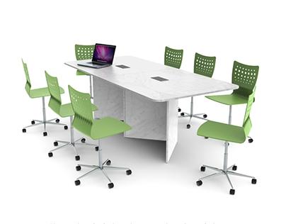 Mesa de reunião W