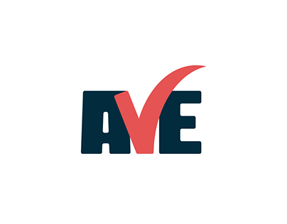 AVE - All vacancies in Europe. Logo design.