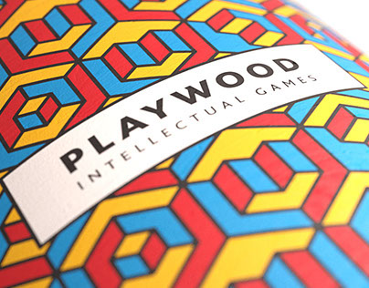 PlayWood identity. Intellectual games