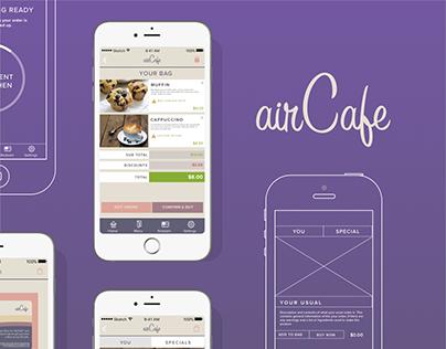 AirCafe (IoT Umajin Hackfest 2016)
