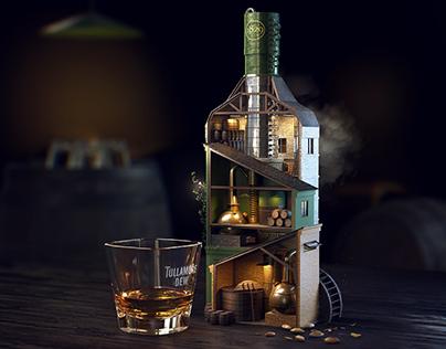 Tullamore D.E.W. — Triple Blend — Idea, 3D Key Visual