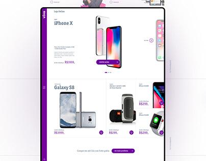 Portal Vivo UI/UX
