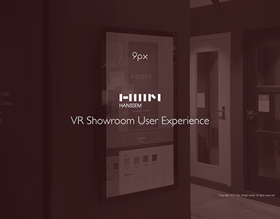 Hanssem VR Showroom UX