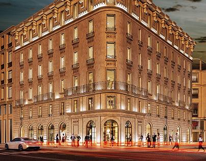 Edificio de oficina en Gran Vía (Madrid)