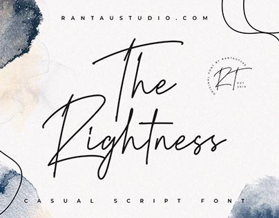 The Rightness