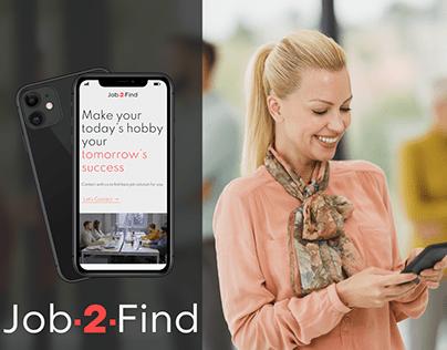 Job2Find | Business website for HR agency