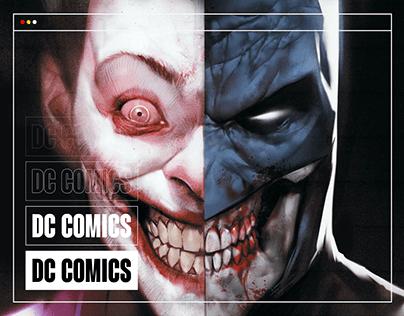 DC COMICS — website redesign