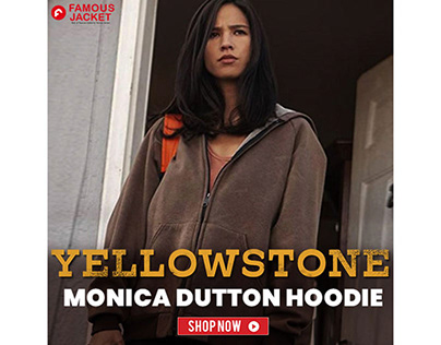 Yellowstone Monica Dutton Kelsey Asbille Hoodie