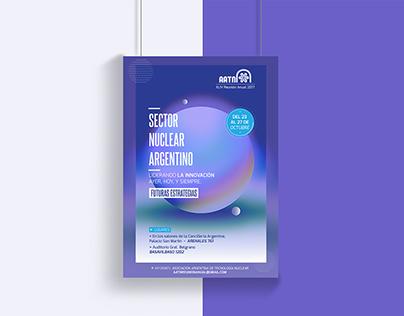 Diseño de Identidad para Reunión Anual AATN 2017