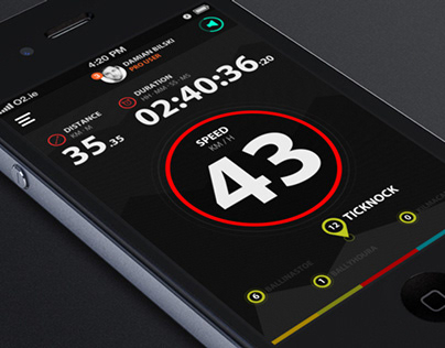Concept Cycling App