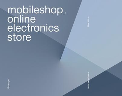 Mobileshop—online electronics store