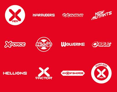 X-Men, Dawn of X logos