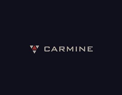 Carmine Inc Visual Identity