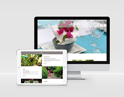 Diseño página web corporativa - La Huerta GastroClub