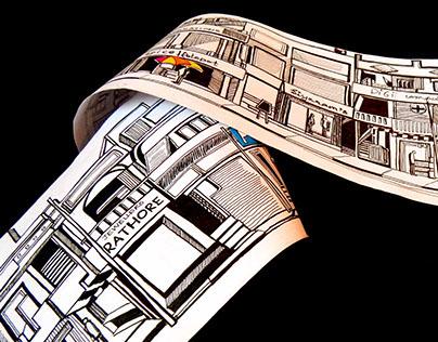 Panoramic Illustration