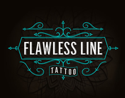 Flawless Line Tattoo logo