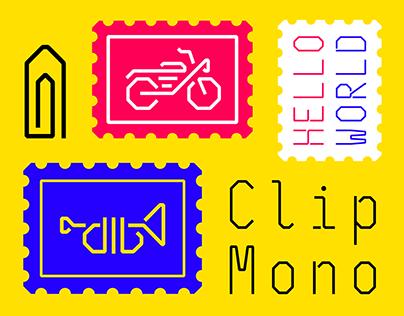 Clip Mono – Typeface