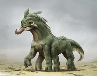 Creature Design - Mammal Alien Thing