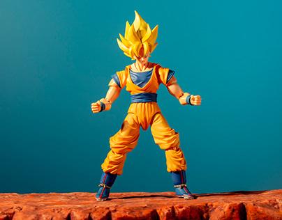 Goku vs Fly - Stop Motion