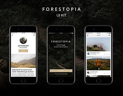 Forestopia UI Kit