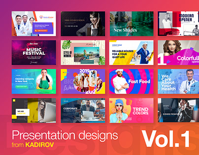 Presentation Design by Kadirov Vol. 1